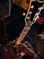 Comment identifier un modèle PRS Guitare