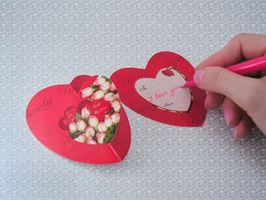 Valentine Party Crafts pour élèves de cinquième année