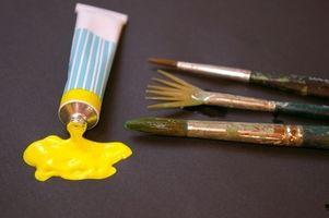 Comment utiliser Peintures acryliques & Technique mixte sur toile