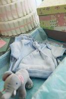 Organic Baby Shower cadeaux