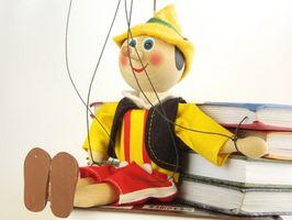 Différents styles de marionnettes