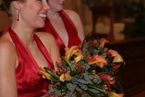 Réception de mariage: demoiselle d'honneur Etiquette