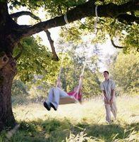 Comment accrocher les balançoires Arbre de Enfants sans grimper aux arbres