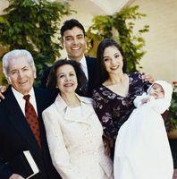 Favors baptême maison