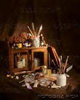 Comment utiliser latex acrylique et peinture à l'huile Ensemble