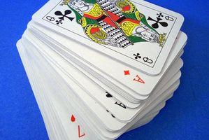 Comment utiliser un pont de Gaff de cartes