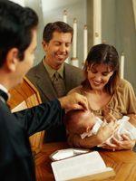 Bébés Traditions de bénédiction dans une messe en espagnol