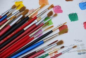 Comment peindre sur un fond sombre Avec Peintures à l'huile