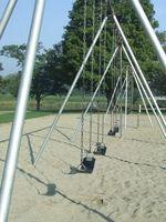 Structures de jeux de plein air pour les enfants