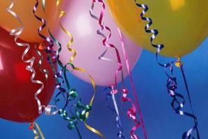 Creative Ways à peser sur des ballons d'hélium