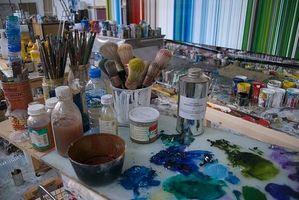 Comment Premier une toile pour peinture à l'huile