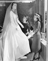 Début des années 1950 Styles Thème de mariage