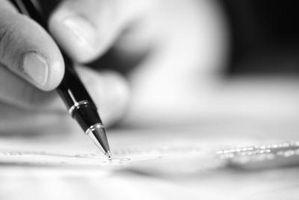 Comment écrire des profils de la personnalité de caractères