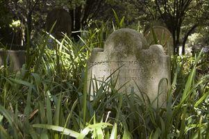 Comment conserver les pierres tombales