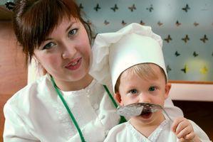 Activités alimentaires avec des enfants