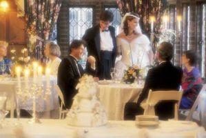 Comment décorer pour un mariage sans trous dans les murs