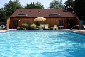 Comment réduire chlore dans une piscine