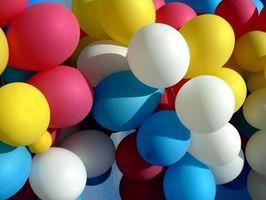 Comment louer un réservoir pour Ballons