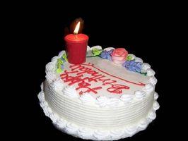 Conseils sur la décoration de gâteaux