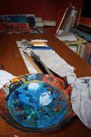 Comment mélanger Peintures à l'huile avec tout milieu