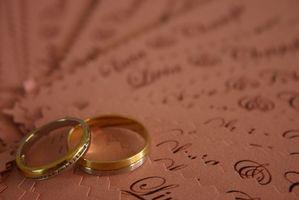 Mariage Répondre Cartes Etiquette
