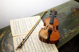 Comment enseigner aux enfants être titulaire d'un archet de violon