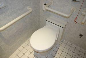 Formation de toilettes pour les enfants mentalement handicapés