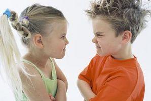 Enfants d'enseignement sur les pensées, sentiments et comportements
