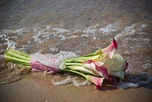 Idées de mariage de plage Bouquet