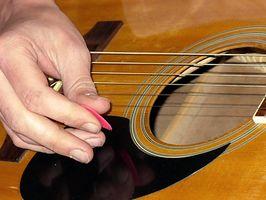 Comment faire une mélodie sur une guitare