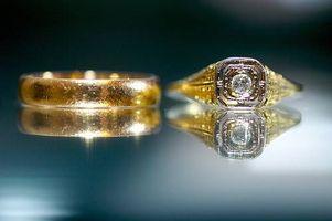 Comment concevoir anciennes anneaux de mariage