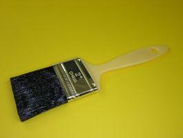 Comment garder Peinture à base d'huile de coller