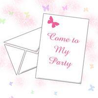 Programmes d'invitation Party