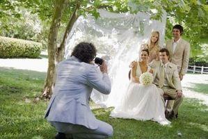 Comment décorer une arrière-cour pour une réception de mariage