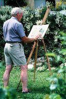 Art Studio réglable Bois Art Chevalet Peinture Set Instructions