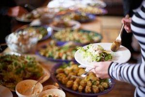 Comment calculer la quantité de nourriture à Fix pour 350 personnes