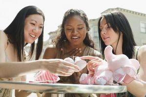 Quels sont Creative Versets Baby Shower Invitations pour?
