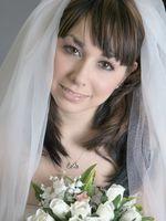 Coiffures de célébrité de mariage pour cheveux longs