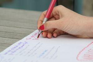 Liste rédaction de la dissertation