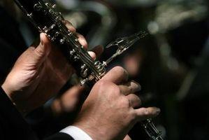 Comment faire pour configurer vos mains sur une clarinette