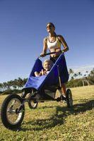 Comment garder un enfant divertir tout Vous Jogging