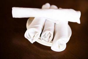Etape par étape Comment plier une serviette