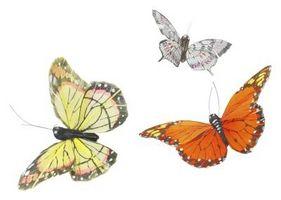 Comment faire Papillons Utilisation débarbouillettes de mon bébé