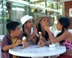 Comment garder le mieux à vos enfants ensemble lors de la marche dans un centre commercial ou un lieu public