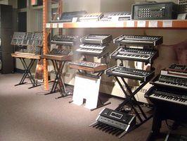 Instruments utilisés pour rendre la musique Techno