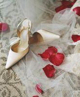 How High d'un talon à porter avec une robe de mariée longue?