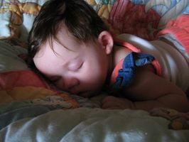 Raisons pour lesquelles un bébé ne sera pas aller dormir