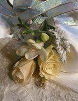 Comment faire un beau, mariage d'hiver Arrangment