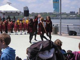 Comment apprendre l'irlandais Étape Danse