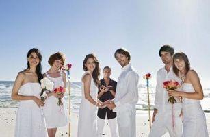 Quels personnes sont nécessaires dans une fête de mariage?